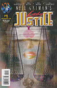 Cover Thumbnail for Neil Gaiman's Lady Justice (Big Entertainment, 1995 series) #1 [Bill Sienkiewicz Cover]