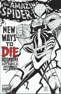 Cover Thumbnail for The Amazing Spider-Man (Marvel, 1999 series) #568 [Black-and-White Variant Edition]