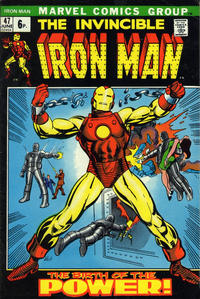 Cover Thumbnail for Iron Man (Marvel, 1968 series) #47 [British]