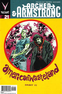 Cover Thumbnail for Archer and Armstrong (Valiant Entertainment, 2012 series) #21 [Cover B - Michael Walsh]