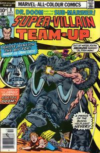 Cover Thumbnail for Super-Villain Team-Up (Marvel, 1975 series) #8 [British]