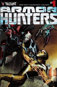 Cover Thumbnail for Armor Hunters (Valiant Entertainment, 2014 series) #1 [Cover A - Jorge Molina]