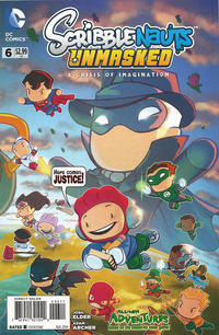 Cover Thumbnail for Scribblenauts Unmasked: A Crisis of Imagination (DC, 2014 series) #6