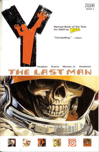 Cover Thumbnail for Y: The Last Man (DC, 2003 series) #3 - One Small Step [Second Print]