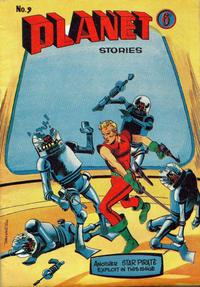 Cover Thumbnail for Planet Stories (Atlas Publishing, 1961 series) #9