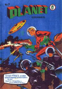 Cover Thumbnail for Planet Stories (Atlas Publishing, 1961 series) #7