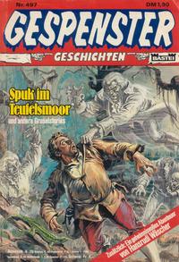 Cover Thumbnail for Gespenster Geschichten (Bastei Verlag, 1974 series) #497