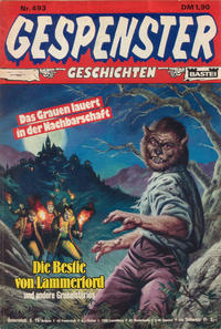 Cover Thumbnail for Gespenster Geschichten (Bastei Verlag, 1974 series) #493