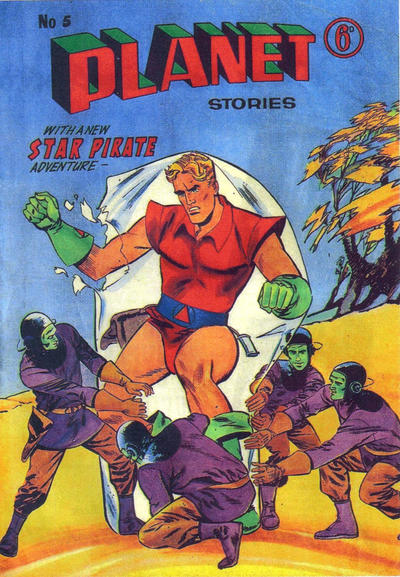 Cover for Planet Stories (Atlas Publishing, 1961 series) #5