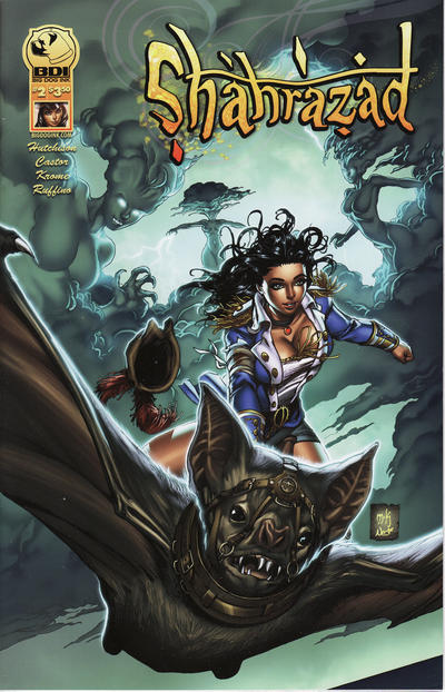 Cover for Shahrazad (Big Dog Ink, 2013 series) #2 [Cover B]