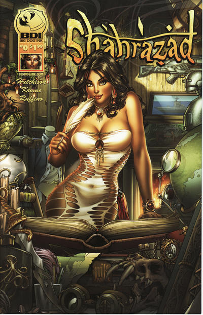 Cover for Shahrazad (Big Dog Ink, 2013 series) #0 [Cover A]