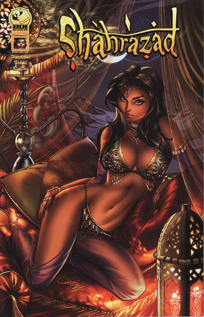 Cover for Shahrazad (Big Dog Ink, 2014 series) #1 - Gods and Monsters
