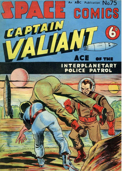 Cover for Space Comics (Arnold Book Company, 1953 series) #75