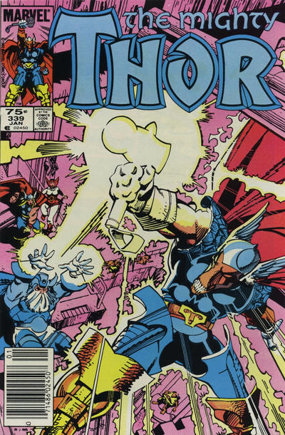 Cover for Thor (Marvel, 1966 series) #339 [Direct Edition]