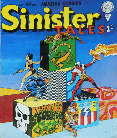 Cover for Sinister Tales (Alan Class, 1964 series) #85