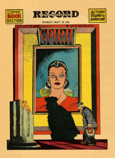 Cover for The Spirit (Register and Tribune Syndicate, 1940 series) #5/18/1941