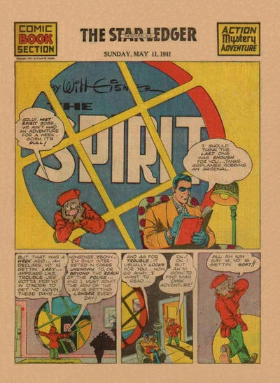 Cover for The Spirit (Register and Tribune Syndicate, 1940 series) #5/11/1941