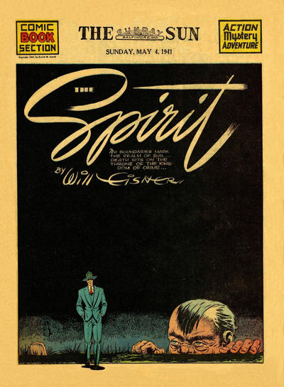 Cover for The Spirit (Register and Tribune Syndicate, 1940 series) #5/4/1941