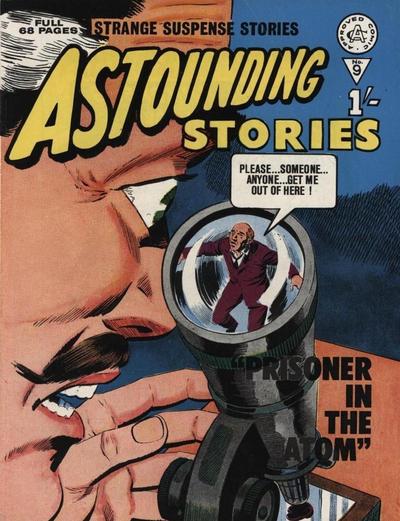Cover for Astounding Stories (Alan Class, 1966 series) #9