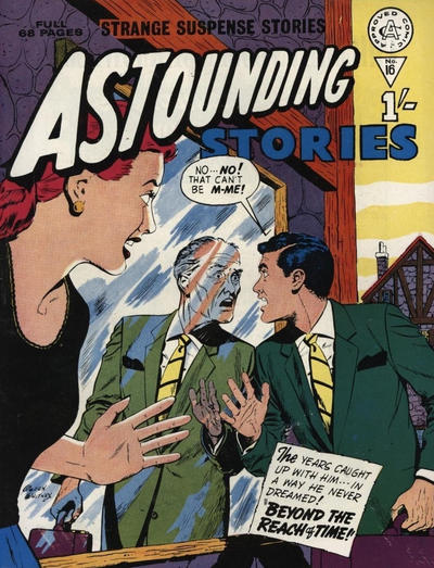 Cover for Astounding Stories (Alan Class, 1966 series) #16