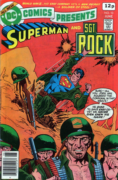 Cover for DC Comics Presents (DC, 1978 series) #10 [Whitman cover]
