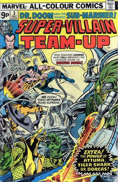 Cover for Super-Villain Team-Up (Marvel, 1975 series) #3