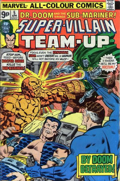 Cover for Super-Villain Team-Up (Marvel, 1975 series) #5