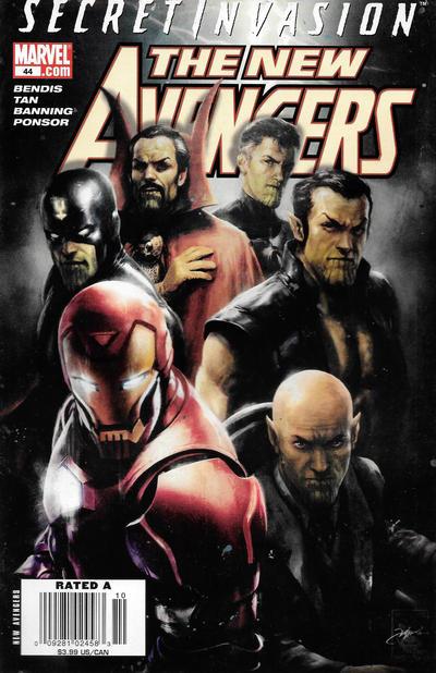 Cover for New Avengers (Marvel, 2005 series) #44
