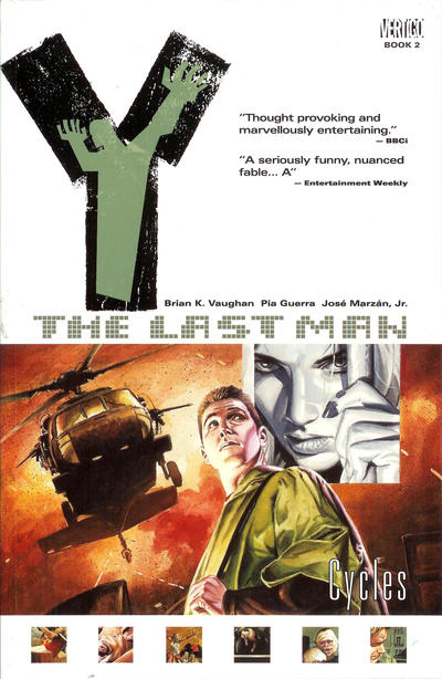 Cover for Y: The Last Man (DC, 2003 series) #2 - Cycles [First Print]