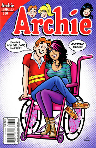 Cover for Archie (Archie, 1959 series) #656 [Regular Cover]