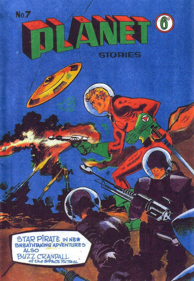 Cover for Planet Stories (Atlas Publishing, 1961 series) #7