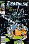 Cover for Deathlok (Marvel, 1991 series) #4 [Newsstand]