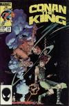 Cover for Conan the King (Marvel, 1984 series) #24 [Direct Edition]