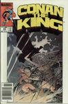 Cover Thumbnail for Conan the King (1984 series) #25 [Newsstand Edition]