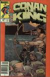 Cover Thumbnail for Conan the King (1984 series) #26 [Newsstand Edition]