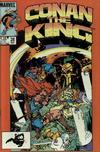 Cover for Conan the King (Marvel, 1984 series) #28 [Direct Edition]
