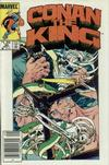 Cover for Conan the King (Marvel, 1984 series) #30 [Newsstand Edition]