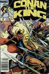 Cover Thumbnail for Conan the King (1984 series) #32 [Newsstand Edition]