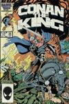 Cover for Conan the King (Marvel, 1984 series) #35 [Direct Edition]