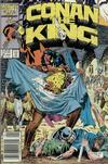 Cover Thumbnail for Conan the King (1984 series) #38 [Newsstand Edition]