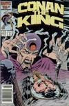 Cover Thumbnail for Conan the King (1984 series) #39 [Newsstand Edition]