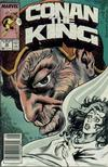 Cover Thumbnail for Conan the King (1984 series) #46 [Newsstand Edition]