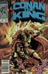 Cover Thumbnail for Conan the King (1984 series) #48 [Newsstand Edition]