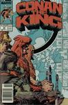 Cover Thumbnail for Conan the King (1984 series) #49 [Newsstand Edition]