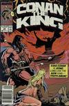 Cover Thumbnail for Conan the King (1984 series) #54 [Newsstand Edition]