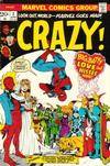 Cover for Crazy (Marvel, 1973 series) #2