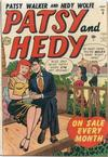 Cover for Patsy and Hedy (Marvel, 1952 series) #5