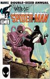 Cover for Web of Spider-Man Annual (Marvel, 1985 series) #1 [Direct]