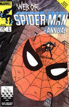 Cover for Web of Spider-Man Annual (Marvel, 1985 series) #2 [Direct]