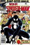 Cover for Web of Spider-Man Annual (Marvel, 1985 series) #3 [Newsstand]